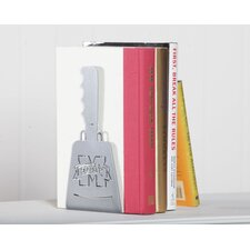 """Mississippi State """"Cowbell"""" Book End"""