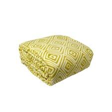 Luxury Printed Square Plush Throw Blanket