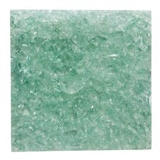 Crackled Glass Wall Decor