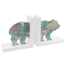 The Great Outdoor Bear Bookends