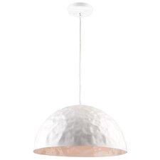 Metal 1-Light Inverted Pendant