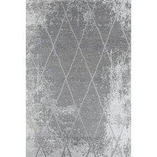 Handgewebter  Teppich Fine in Grau