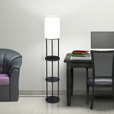 "Charging Station 63"" Column Floor Lamp"