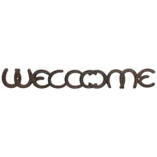 "Stonebriar Horseshoe ""WELCOME"" Wall Décor"