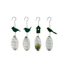 Birdspring and Fatball Bird Feeder (Set of 4)