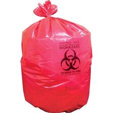 Biohazard Trash Bags, 150 Count
