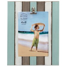 Water's Edge Planked Picture Frame