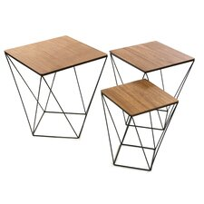 3 Piece Blackwire Coffee Table Set
