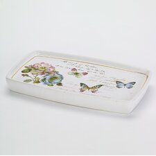 Butterfly Garden Shower Tray