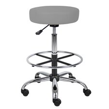Glade Height Adjustable Drafting Stool with Footring