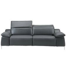 Sofia Electric Motion Leather Reclining Loveseat
