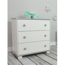 Allesia 3 Drawer Chest of Drawers