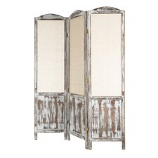 175cm x 135cm Folding Screen 3 Panel Room Divider