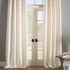 Baillons Solid Blackout ThermalGrommet Curtain Panels (Set of 2)