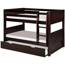 Isabelle Low Twin Bunk Bed with Trundle