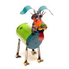 Fido Spring Neck Dog Statue