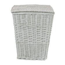 Rectangular Willow Wicker Laundry Hamper