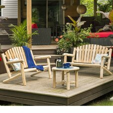 Cedar 3 Piece Bench Seating Group