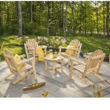 Cedar 4 Piece Adirondack Seating Group