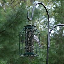 Wire Squirrel-Proof Tube Bird Feeder