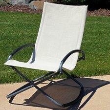 Folding Rocking Lounge Chair (Set of 2)