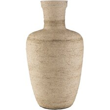 Cliffland Brown Jute Table Vase
