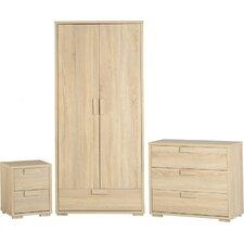 Gillman 3 Piece Bedroom Set