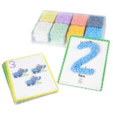PlayFoam 21 Piece Shape and Learn Number Set