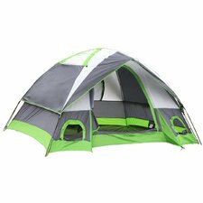 Semoo Water Resistant 4 Person Tent with Carry Bag