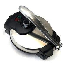 "Nonstick Electric Tortilla Press 8"" Tortilla Maker Machine"