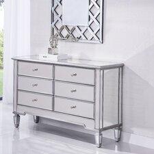 Chamberlan 6 Drawer Dresser