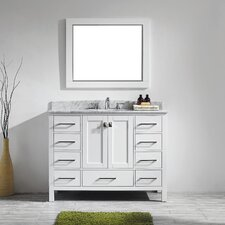 "Pichardo Contemporary 48"" Single Bathroom Vanity Set"