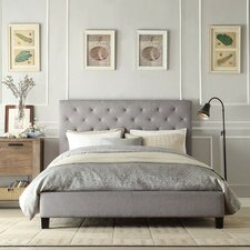 Charlotte Low End Fabric Upholstered Bed Frame