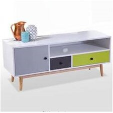 Ilva Range Coloured Drawers TV Stand for TVs up to 50""""
