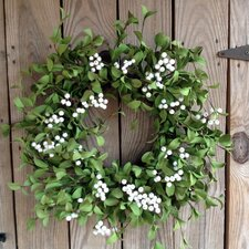 """22"""" Foliage with Berry Wreath"""