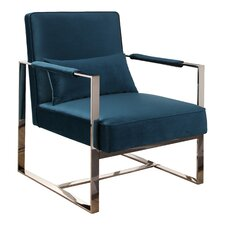 Chaffin Stainless Steel Armchair