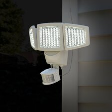 Triple Head Solar Motion 150-Light LED Security light