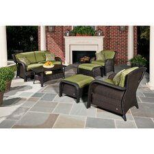 Billington 6 Piece Lounge Seating Group with Cushions