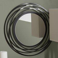 quick view fluent round wall mirror