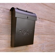Emily Post Industrial Style Wall Mounted Mailbox