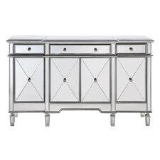 Lockheart 3 Drawer 4 Door Cabinet