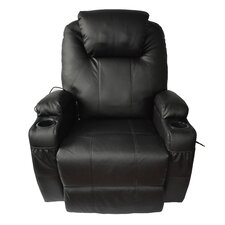 Leather Adjustable Massage Chair