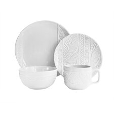 Lothian 16 Piece Dinnerware Set, Service for 4