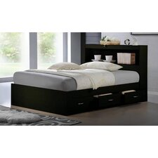 Keira Platform Bed with Storage