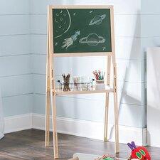 KidSpace Chalkboard and Dry Erase Board Easel