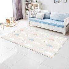 Blue Spot/Cloud Bebe Soft Floor Mat