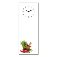 Analoge Wanduhr Time Board Flavouring Spices XXL