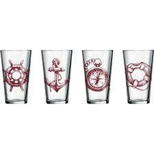 Elwood 16 Oz. Specialty Drink Glass (Set of 4)