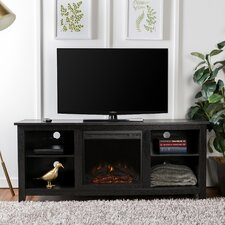 "Sunbury 58"" TV Stand with Electric Fireplace"
