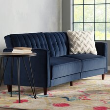 Clara Pin Tufted Convertible Sofa